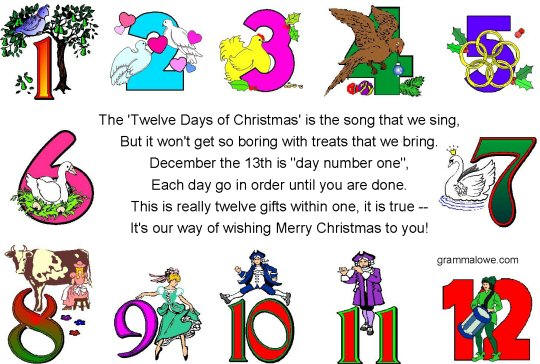 artists love the 12 days of christmas - When Are The Twelve Days Of Christmas
